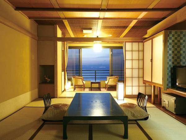 【海を望むオーシャンビューの客室/例】