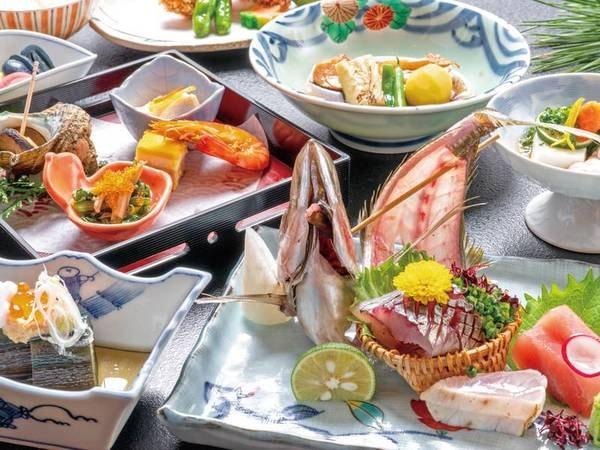 【金目鯛付お得会席/例】金目鯛煮付けやお造り等全10品
