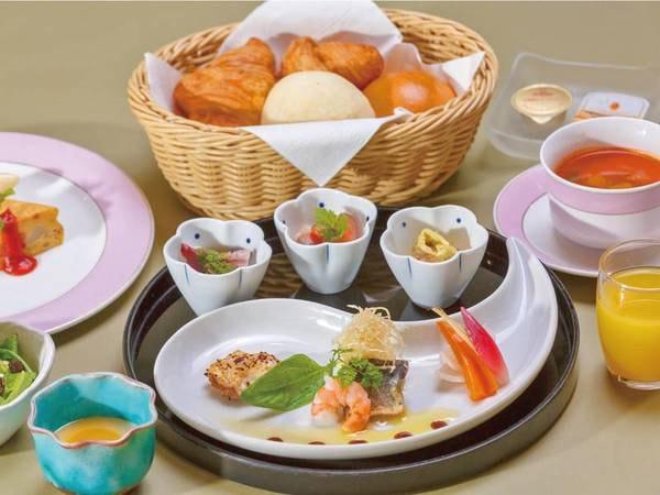 【朝食】和食or洋食で個人選択可能(洋食・例)