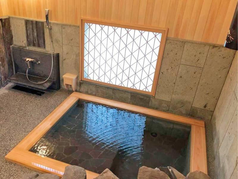 【貸切露天風呂(古代の湯)】源泉掛け流しのお風呂をプライベート感覚で
