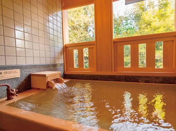 【別邸/水の語り部(温泉半露天風呂付)/例】お部屋でいつでも好きな時に温泉を満喫