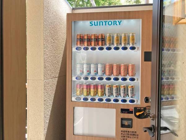 【別邸/水の語り部】水の語り部宿泊者限定無料自販機