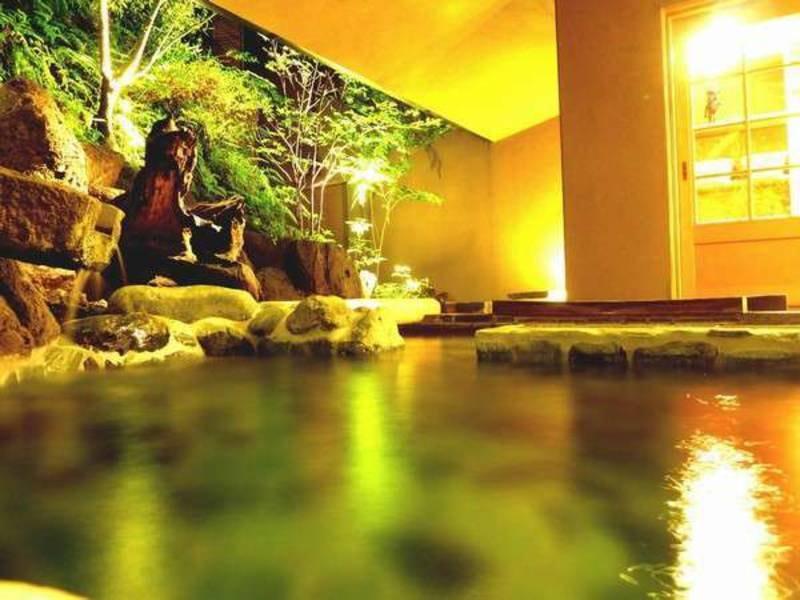 【大岩の湯】貸切露天風呂はチェックイン時に予約を