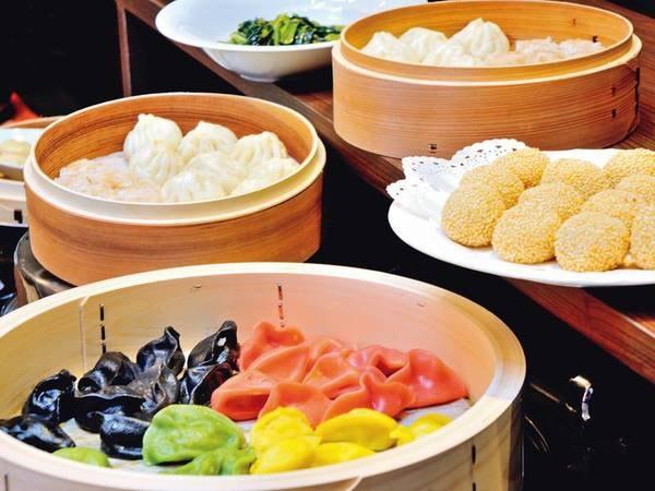 【夕食/例】点心などの中華も楽しめる