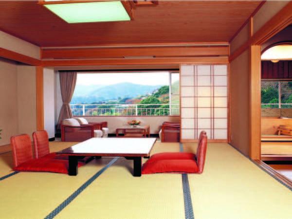 【新館和室/例】12.5畳以上のグレードアップした和室でワンランク上の寛ぎを