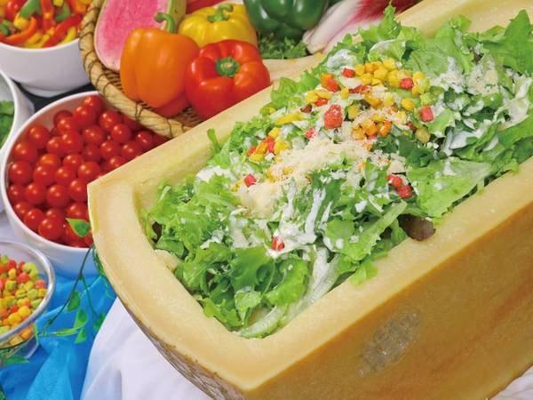 【夕食/例】サラダ