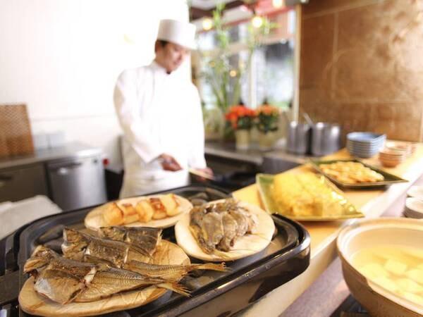 【朝食/例】伊豆といえば、の干物など