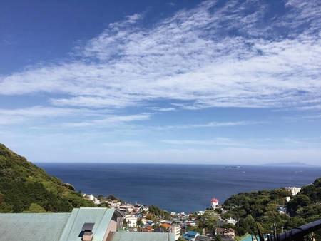 【海側客室からの眺望/一例】
