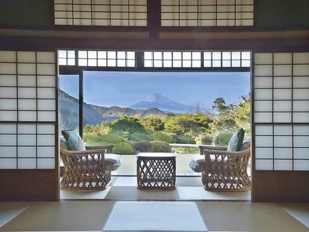 【離れ】富士山を望む純和風の離れでまわりを気にせずのんびり/例