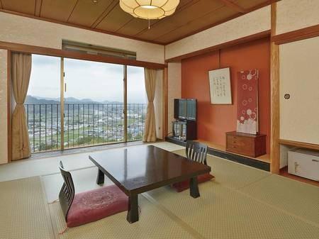 和室は富士山側の客室。禁煙・喫煙を予約時にご選択