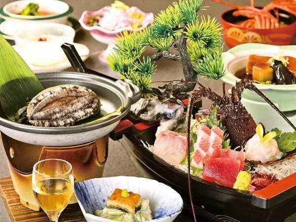 【伊勢海老・金目鯛・鮑/例】伊豆ならではの厳選素材で彩られたお料理