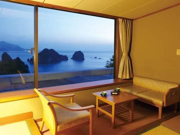 【上層階客室/例】14日前まで予約で、7階以上の高層階客室を確約!