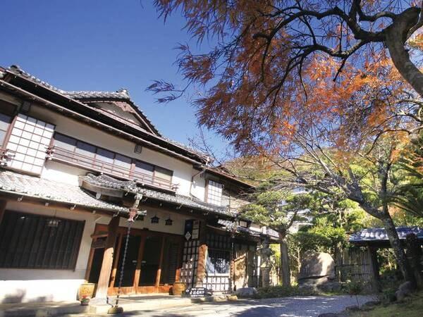 【外観】閑静な日本の宿へようこそ