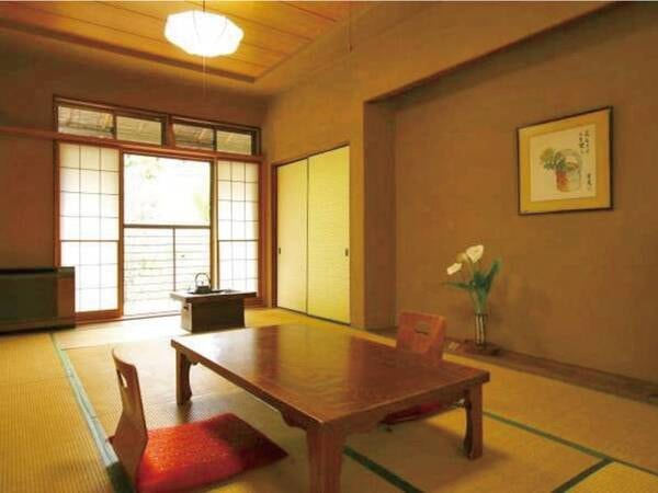 【レトロ本館和室/例】木造2階建て。階段使用の場合あり