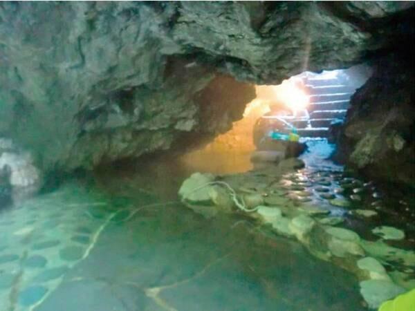 新名所の溶岩洞窟風呂もすぐそば