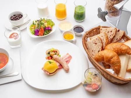 朝食セットメニュー/洋食選択時一例
