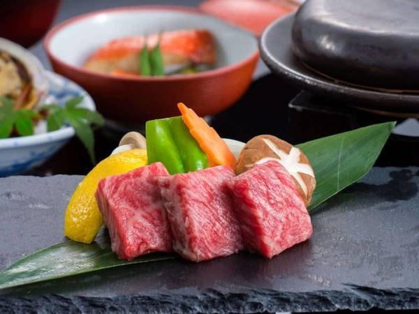 松阪牛の石焼き/例