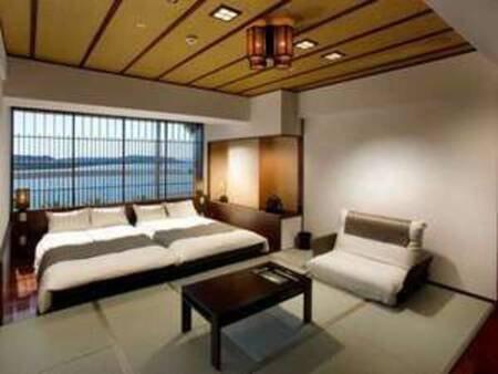 【浜名湖ビュー】客室(デザイン和室)/例