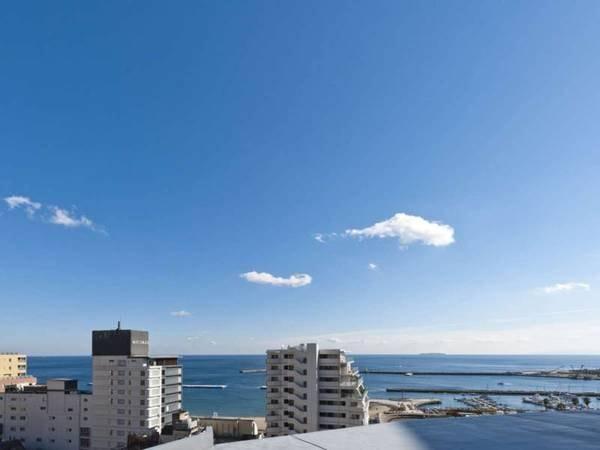 【屋上からの景観/晴れた日】