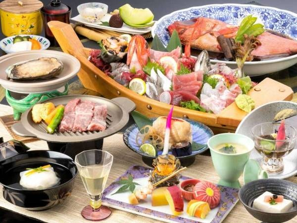 【海の幸&お肉料理も欲張りプラン/例】