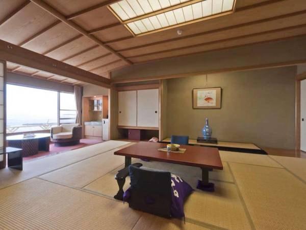 【客室/例】【海側】特別室1間/12畳+広縁