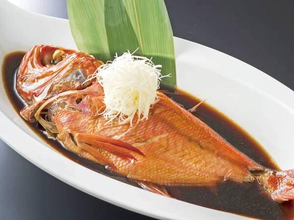 【金目鯛姿煮/例】金目鯛姿煮は1室何名利用でも1尾