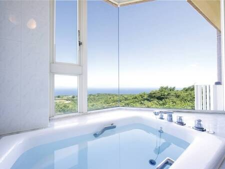 【展望風呂・ビスタバス/例】景色を楽しみながらちょっと贅沢なバスタイム♪