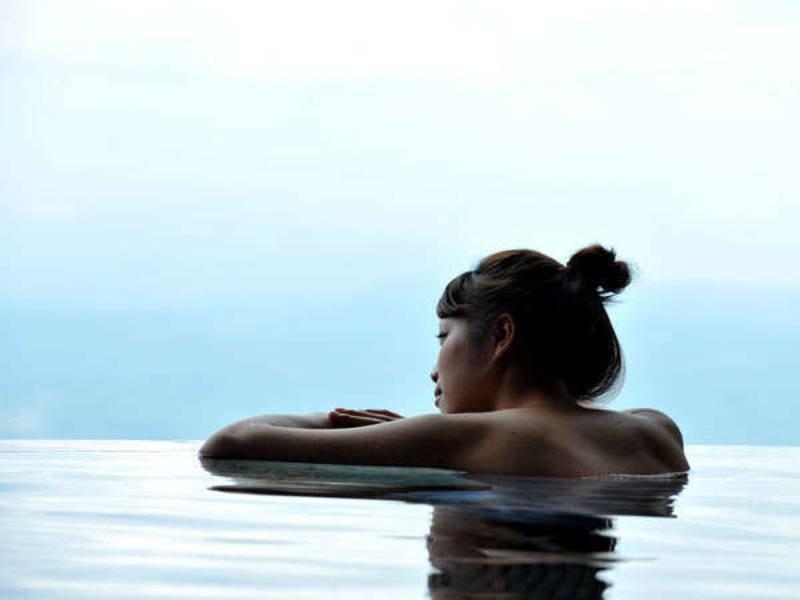 【大浴場】富士山を眺めながら日頃の疲れを癒してください