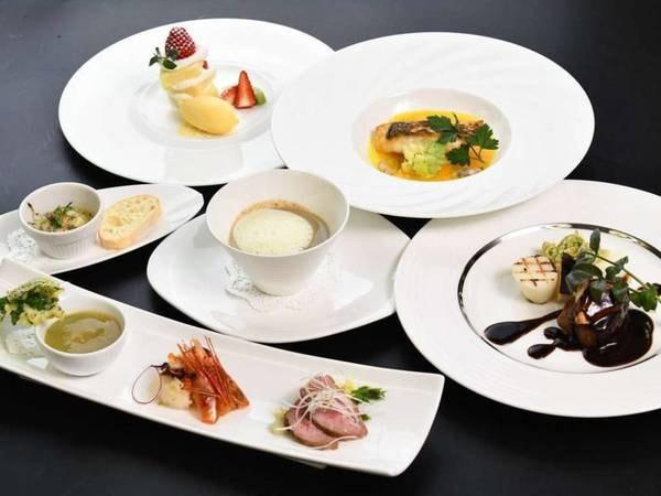 【フレンチコースPlateau~プラトー/例】お魚とお肉、どちらも愉しめるコース料理