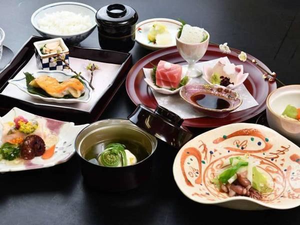 【和食会席「天城」/例】ひとつひとつ丁寧に料理した心と身体に優しい和食会席