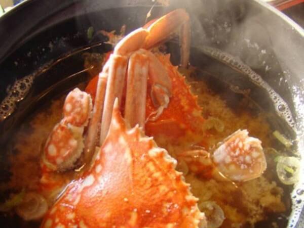 【朝食付き/例】当苑ならでは!朝食の蟹の味噌汁
