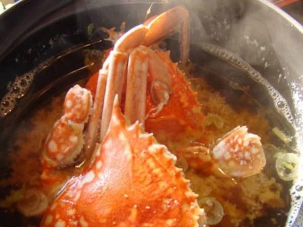 【朝食/例】当苑ならでは!朝食の蟹の味噌汁