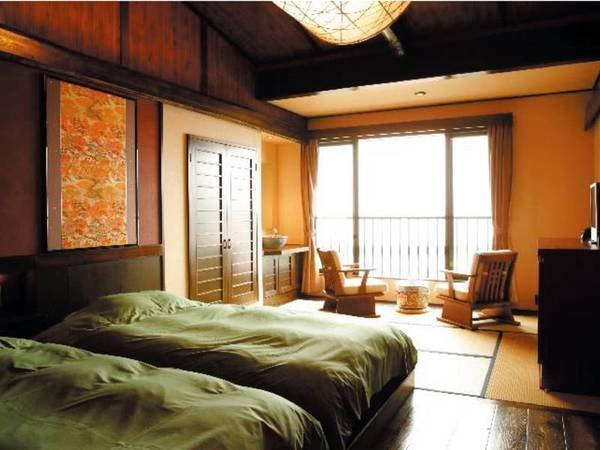 【和洋室/例】各客室、少しずつ配置やインテリアが異なります