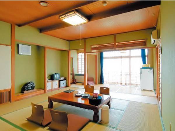 【客室/例】純和室。ゆっくりと寛げる、落ち着く和室にご案内