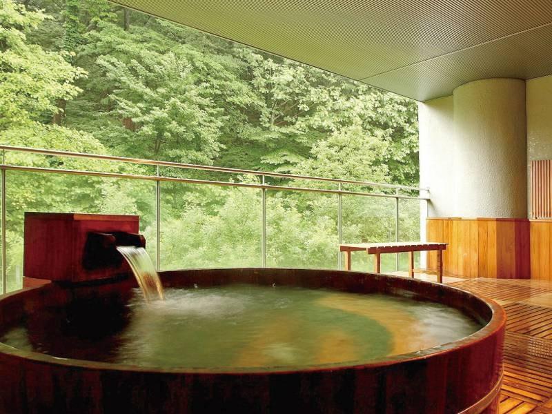 繭玉の湯/露天風呂