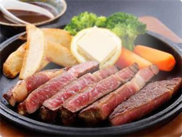 上州牛のステーキ&牛・赤城鶏・もち豚/一例