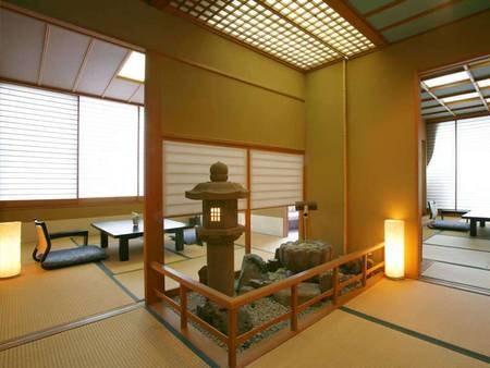 天然温泉の露天風呂付【特別室】/一例