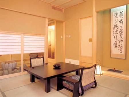天然温泉の露天風呂付き【特別室】/一例