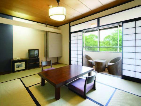 【本館和室/例】老神の自然をゆったり満喫できる純和風の客室