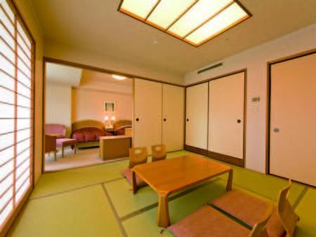 【客室/例】50㎡以上の広々和洋室はファミリーに大人気