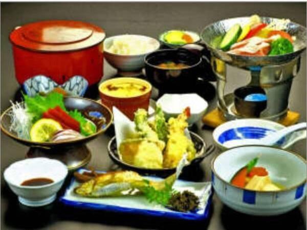 【スタンダード料理一例】一番人気当館のスタンダード料理一例です。