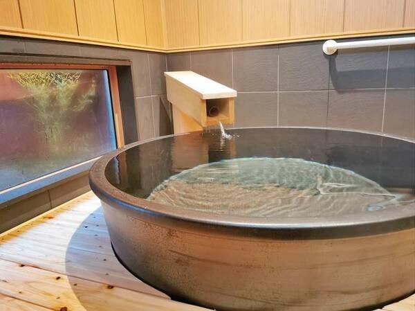 【貸切風呂】湯宿温泉唯一の檜露天風呂は格別!宿泊者は1回無料