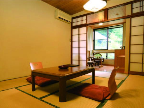 【8畳以上和室/例】趣の異なるお部屋