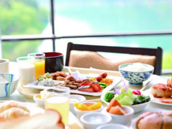 【朝食/例】朝食は豆富屋さんのバイキングをご用意