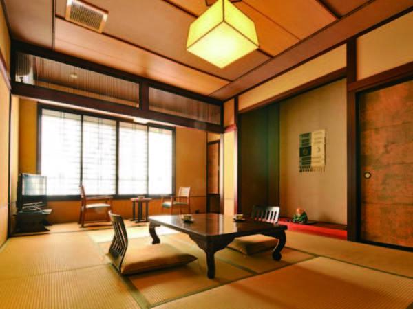 【和室(10畳)/例】落ち着いた設えの和室