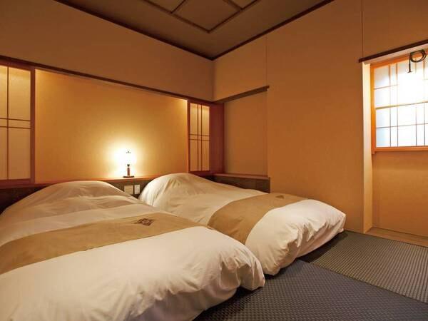 露天風呂付和洋室/寝室一例