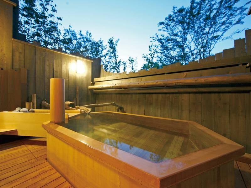 貸切露天風呂【光林】3か所ある貸切露天風呂は空いていれば無料で利用可能
