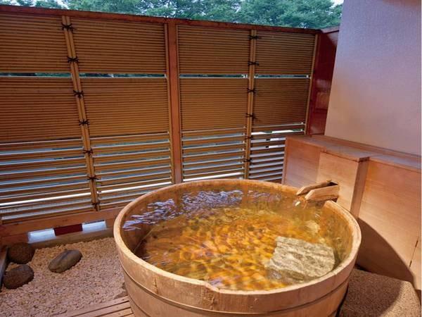 露天風呂付き客室/例