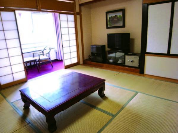【客室/例】洗浄機能トイレ・液晶テレビ完備の8畳和室でゆったり