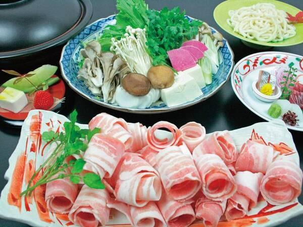 選べる和食コース(豚しゃぶしゃぶ)/一例